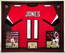 Premium Framed Julio Jones Autographed Atlanta Falcons Jersey - JSA COA