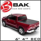 BAK BAKFlip F1 Hard Folding Tonneau Cover for 14-21 Ram 3500/2500/1500 6' 4