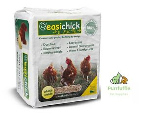 20KG EASICHICK BEDDING BALE  - POULTRY CHICKEN PIGEON AVIARY BIRD SMALL ANIMAL