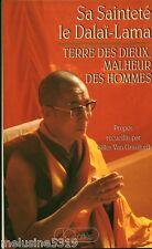 Livre Philosophie Bouddhisme  terre des Dieux malheur des hommes   book