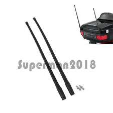 13'' Motorcycle Radio Antenna Masts AM FM XM For Harley 1985-2013 Touring 1 Pair