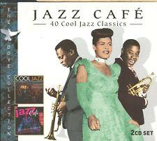 Jazz Cafe / 40 Cool Jazz Classics - 2CD + Slipcase - MINT