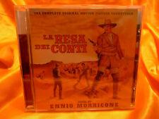 """ENNIO MORRICONE """"LA RESA DEI CONTI - THE BIG GUNDOWN"""" rare GDM Western  CD"""