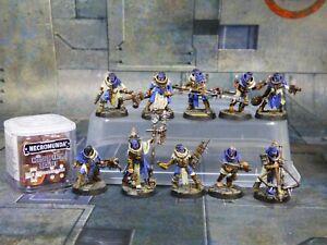 Necromunda Cawdor Gang and House of Faith Dice Set Well Painted (R234)