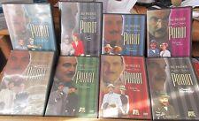 Lot of 8 A&E Presents Agatha Christie's Poirot DVDs EUC