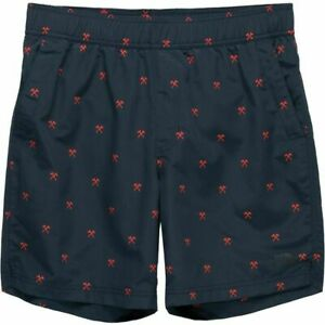 NWT North Face Class V Pull On blue/red Trunks sz 2XL Mens $40 shorts