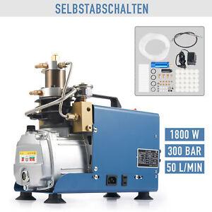 Selbstabschaltung 1800W 300Bar Kompressor Hochdruckluftpumpe Kompressorpumpe