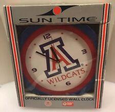 NCAA Arizona Wildcats Premium Quartz Wall Clock By Sun Time New