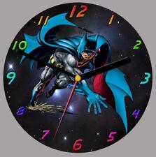 BATMAN Cd Orologio, supporto libero può essere personalizzato