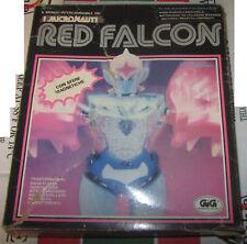 Red Falcon Micronauti Micronauts Mego GIG con scatola e accessori