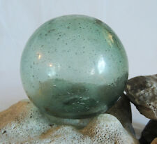 Vintage Japanese GLASS FISHING FLOAT Many Bubbles & Sand Etching Frosting  (#5)