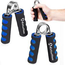 Handgreif-Trainer Handtrainer Fingertrainer Unterarmtrainer Fingerhanteln blau