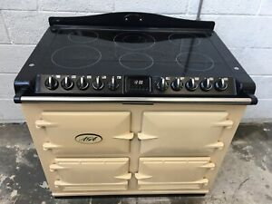 AGA SIX FOUR S-SERIES CLASSIC ALL ELECTRIC RANGE COOKER IN CREAM A34
