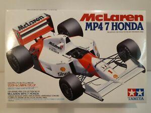 Tamiya 1/20 McLaren Senna MP4/7 Honda Model Kit. Unbuilt.