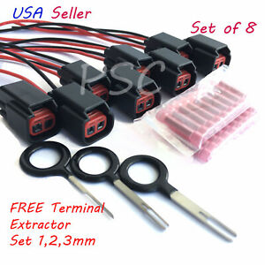 8 Ignition Coil Connector for Ford Cobra Mustang Triton F Series Lincoln Mazda