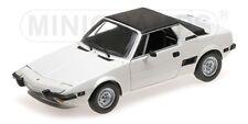 Minichamps 100121665 - Fiat X1/9 1974 blanc  1/18