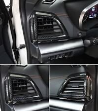 2018 For Subaru XV Carbon Fiber Interior Side Air Vent Outlet Cover Trim 2pcs
