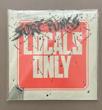 Surf Punks - Locals Only LP with poster. 1981 Day Glo records