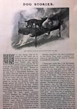 Jan 1909, Magazine Pg #L141- Dog Stories, Mans Best Friend, 4 Pgs