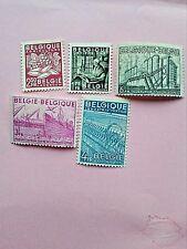 STAMPS - TIMBRE - POSTZEGELS - BELGIQUE - BELGIE  1948 NR.768/72**(ref 73)