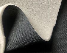 Meterware Auto Dachhimmel Stoff SCHWARZ mit 3mm Schaumstoff kaschiert dehnbar!