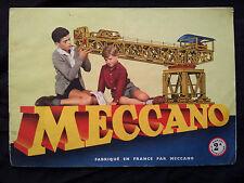 Catalogue Meccano Manuel 2A 1959 catalog catalogo Katalog