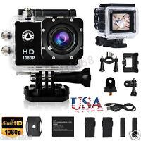 Black Full 1080P SJ5000 Waterproof HD Helmet Sport Action Video Camera Cam DV US