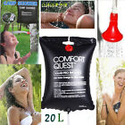 Outdoor 20 L/5Gallon Camping Shower Portable SOLAR Camping Hiking PVC Water Bag