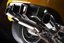 "JDM STAINLESS STEEL 4.5"" SLANT TIP MUFFLER CAT AXLE BACK EXHAUST FOR NISSAN 370Z"