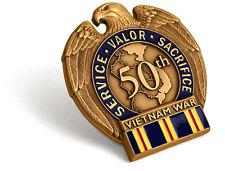Civilian Service Commemorative Insignia Pin Vietnam War 50th Anniversary Vietnam