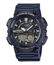 CASIO AEQ-110W-2A NAVY BLUE WATCH FOR MEN - COD + FREE SHIPPING