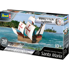 Revell Easy-Click System Santa Maria Ship Model Kit - Scale 1:350 - 05660