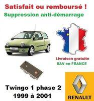 Boitier antidémarrage Supprime l'anti-demarrage des Renault Twingo 1 phase 2