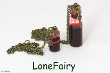 Glass Bronze Costume Necklaces & Pendants
