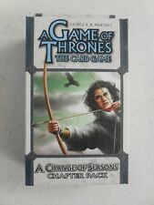 Game of Thrones LCG A CHANGE OF SEASONS Chapter Pack NEW & SEALED