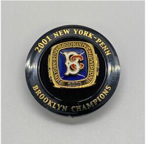 BROOKLYN CYCLONES 2001 CHAMPIONSHIP RING REPLICA 6/26/21 SGA 1st 1,000 FANS
