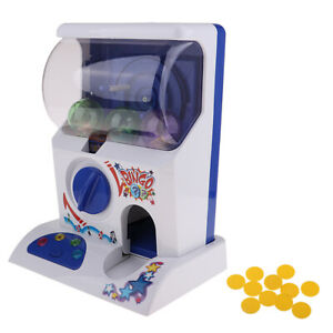 Home Mini Capsule Toy Gashapon Machine & Accessories with Lights Sounds