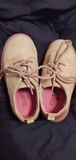 OSH KOSH Boys 7 Toddler Wing tip Tan Shoes - Handsome, Church, Dress