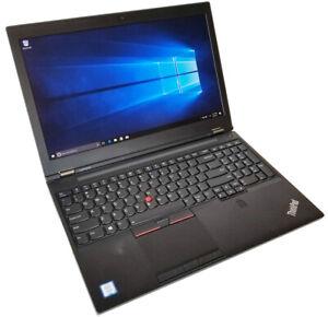 """Lenovo ThinkPad P51 i7 7820HQ 2.9GH 16GB 512GB SSD 15.6"""" 1920x1080 nVidia M2200"""