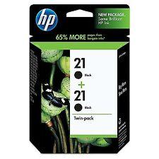 HP 21 | 2 Ink Cartridges | Black | per cartridge: ~190 pages | C9508FN