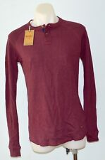 Diesel Mens Long Sleeve T Shirt - MAROON - SIZES - S, M, L,& XXL - NEW