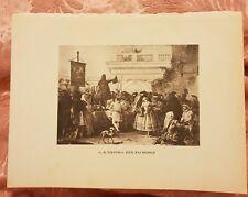 G.B. Tiepolo - Der Zauberer - Vintage Book Print