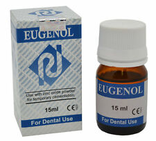 Eugenol Liquid Dental Tooth Pain Cure Remedy, 15mL