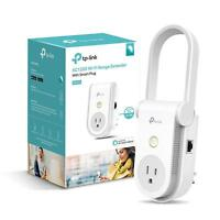 Kasa AC1200 Wi-Fi Range Extender Smart Plug by TP-Link -Works with Alexa