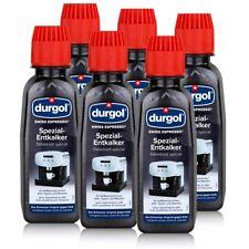 Durgol Swiss Spezial Espresso Entkalker DED 6 Flaschen a 125ml