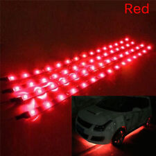 6PCS Waterproof  DC 12V Motor LED Strip Underbody Light For Car Motorcycle LI