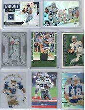 DALLAS COWBOYS (125 CARDS) LOT AUTO,JERSEY,PRESCOTT,ELLIOTT,RCS