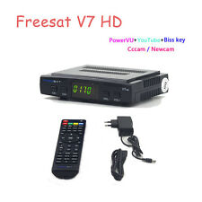 Freesat V7 1080P HD DVB-S2 Mini Ricevitore TV satellitare Box 3G WIFI Biss CHIAVE youtu