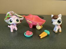 Littlest Pet Shop 584 585 Horse Pony Lamb Sheep Compete Accessories