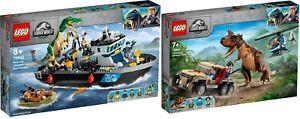 Baryonyx Dinosaur Boat Escape LEGO 76942 76941 Jurassic World Neu9/21 PRESAL